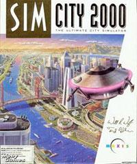 Sim City 2000 Box Art