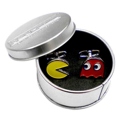 Photograph: Pac Man Cufflinks