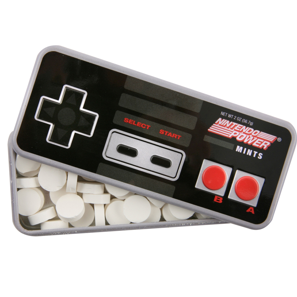 Alternative photo: Nintendo Power Mints