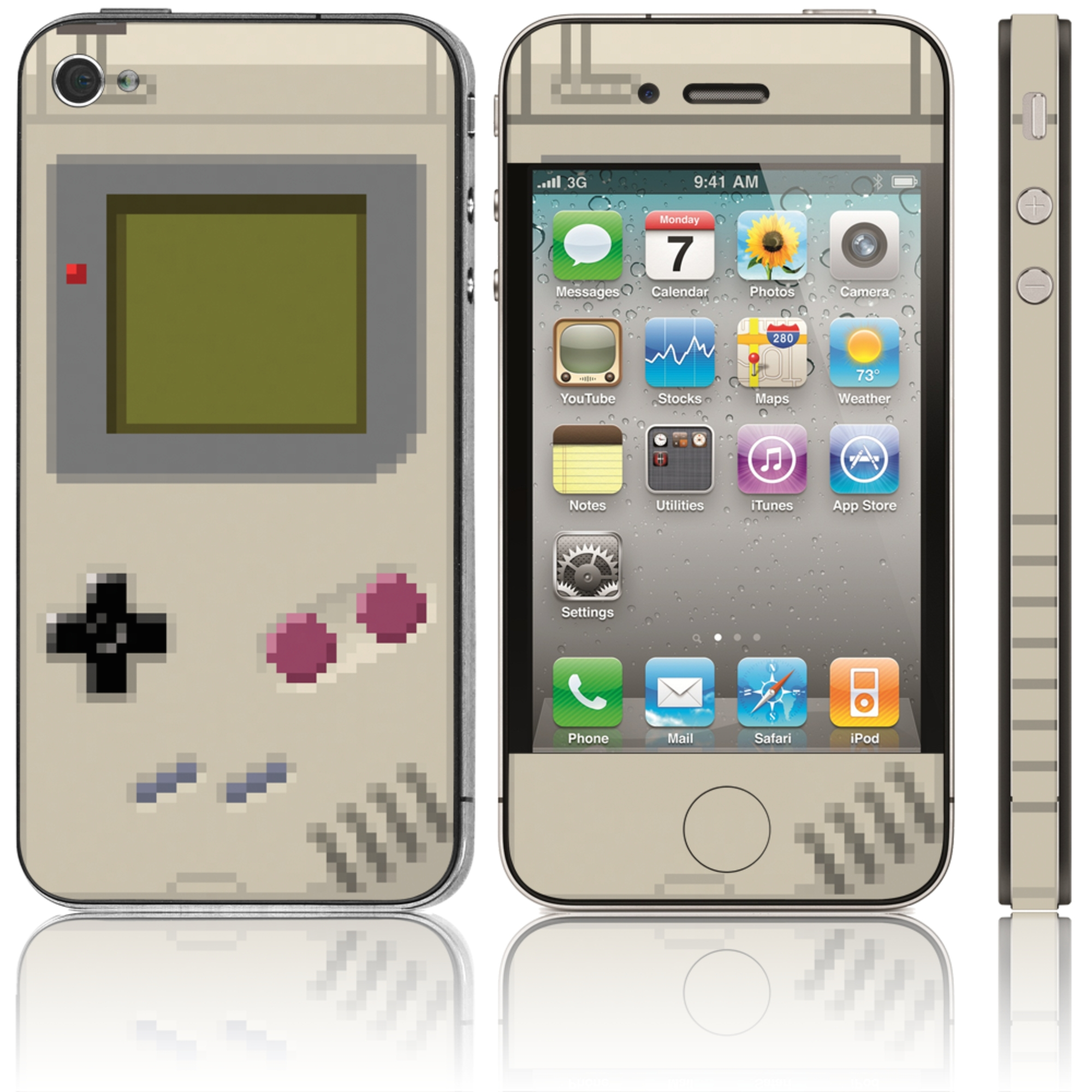 Pixel Boy Phone Skin