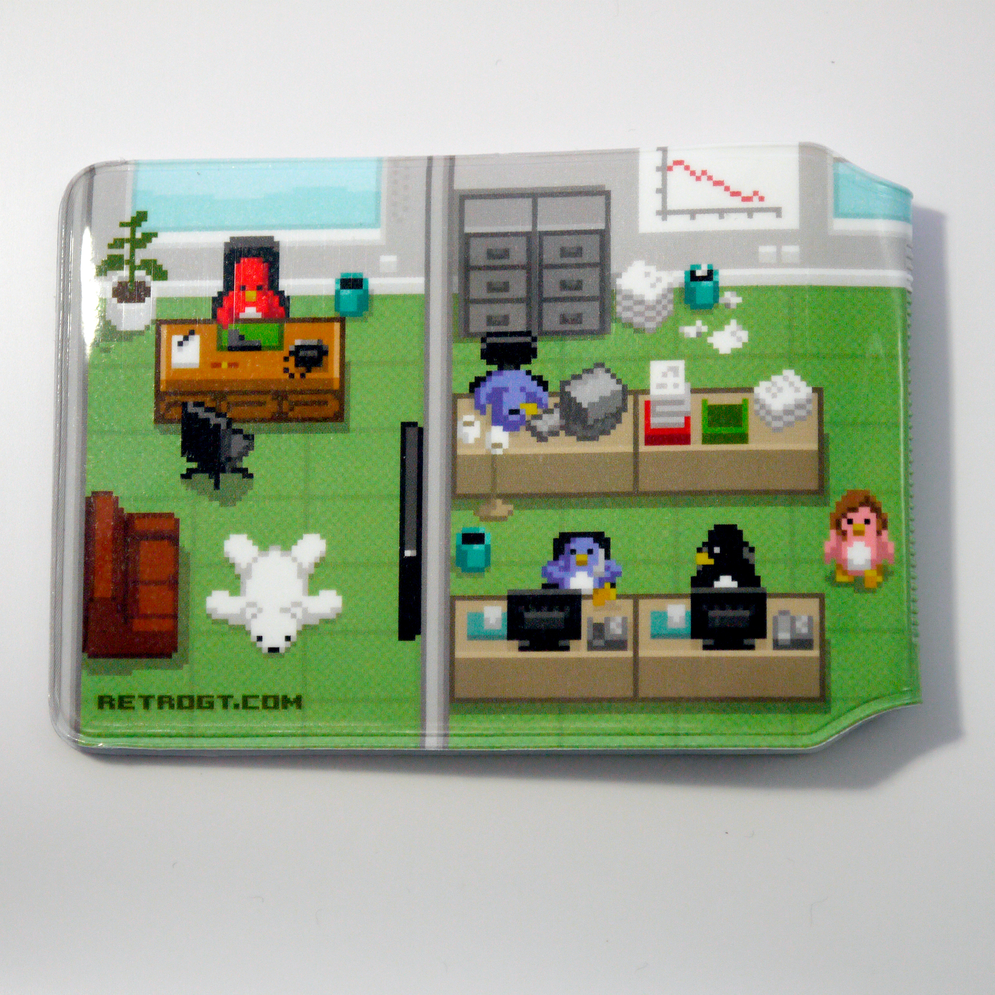 Alternative photo: Pixel Penguin Office Card holder