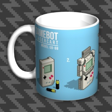 Photograph: Gamebot Pixel Mug