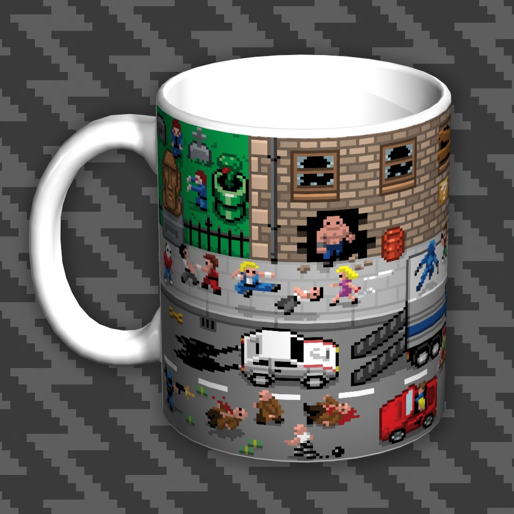 Alternative photo: Retro Road Mug