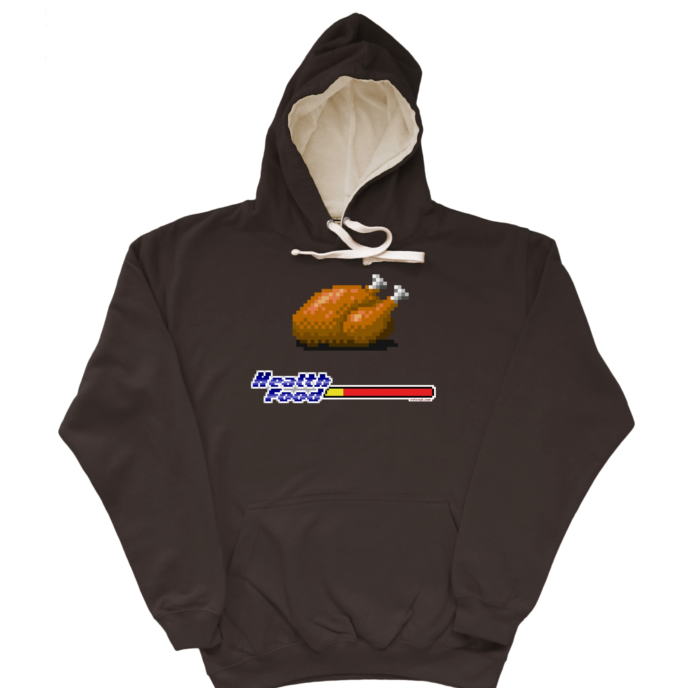 Health Food Chicken Hoodie