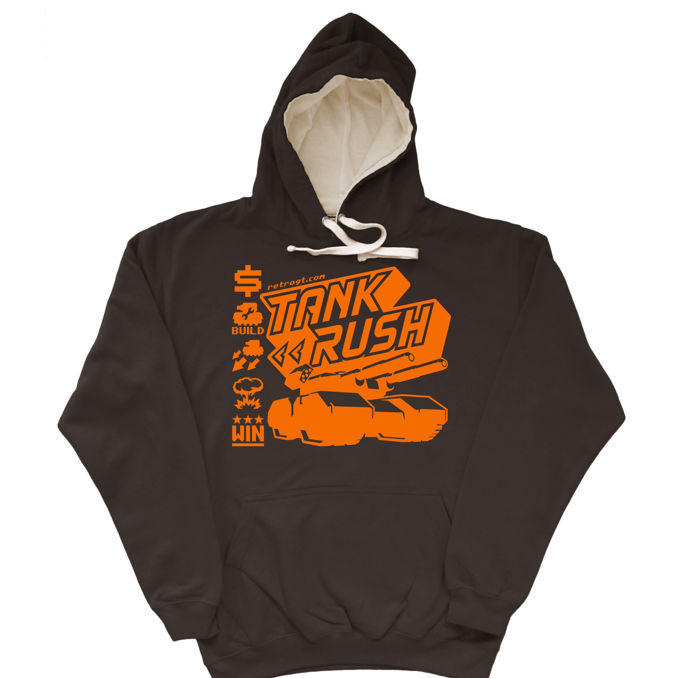 Alternative photo: Tank Rush Hoodie