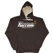 Raccoon Flying School Hoodie