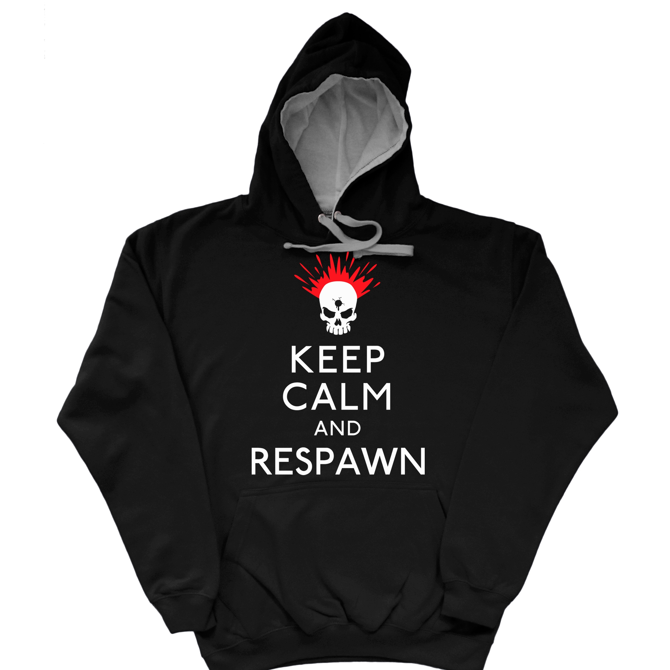 Keep Calm and Respawn Hoodie