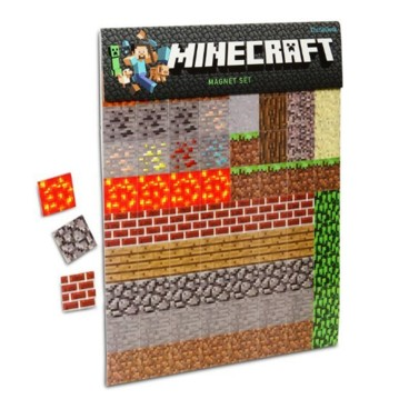 Photograph: Minecraft Magnet Set