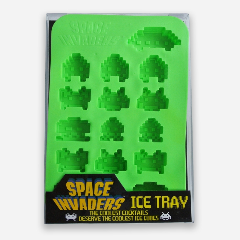 Alternative photo: Space Invaders Ice Cube Tray