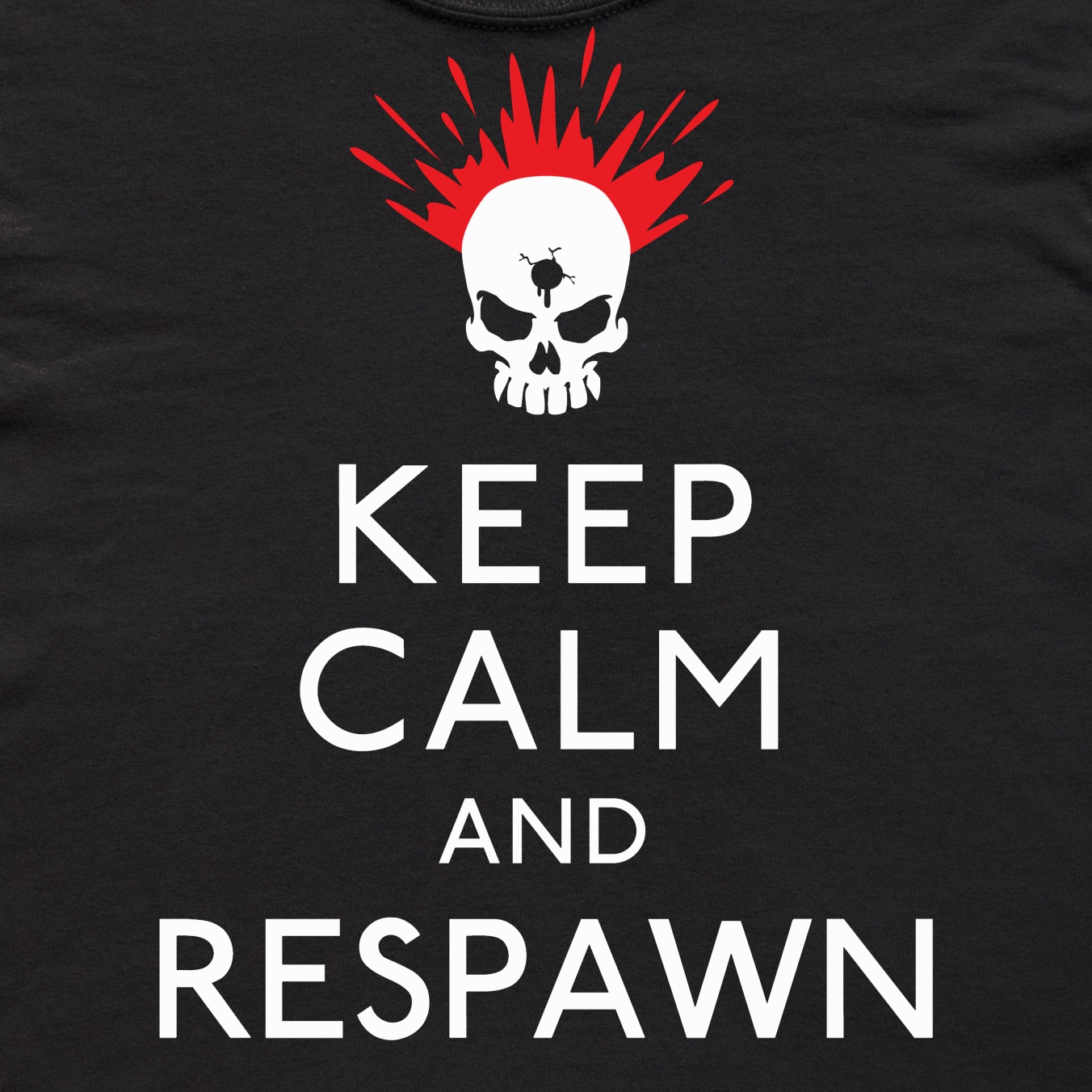 Alternative photo: Keep Calm & Respawn Kid's T-Shirt