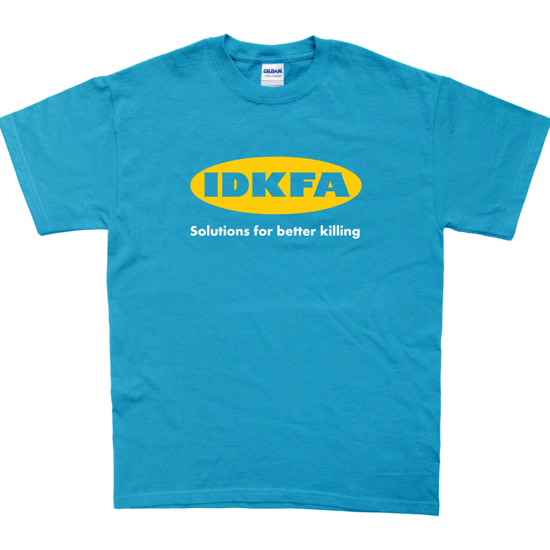 Alternative photo: IDKFA T-shirt