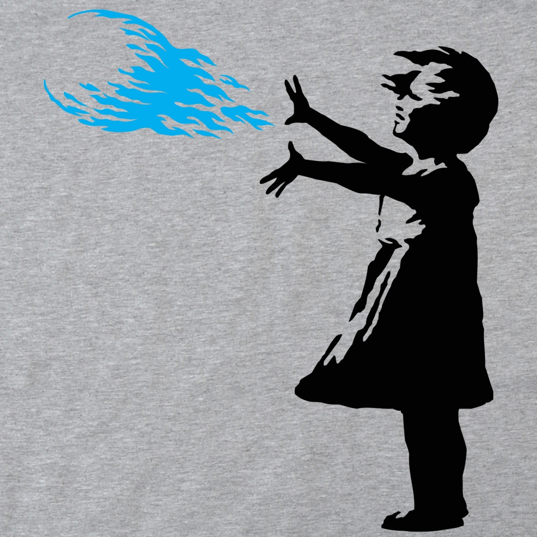 Alternative photo: Hadoken Girl T-Shirt