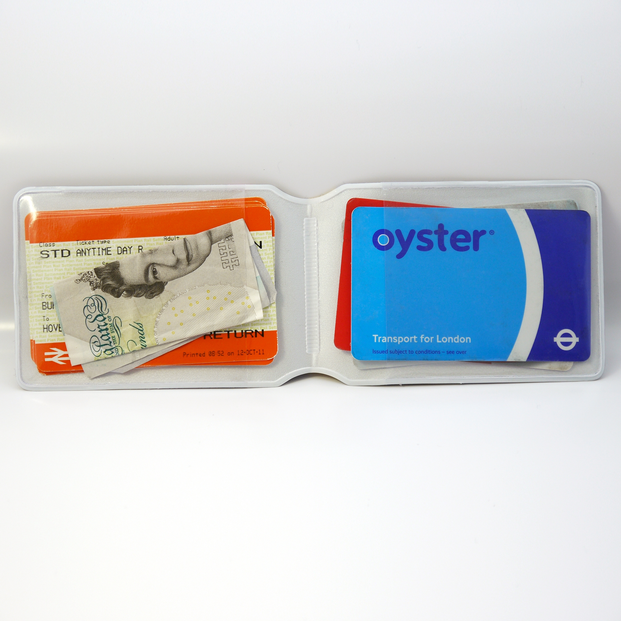 Alternative photo: Cassette Travel Card Holder