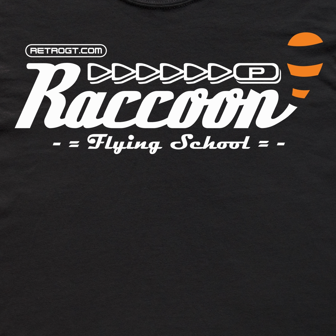 Raccoon Flying School Kid's T-Shirt