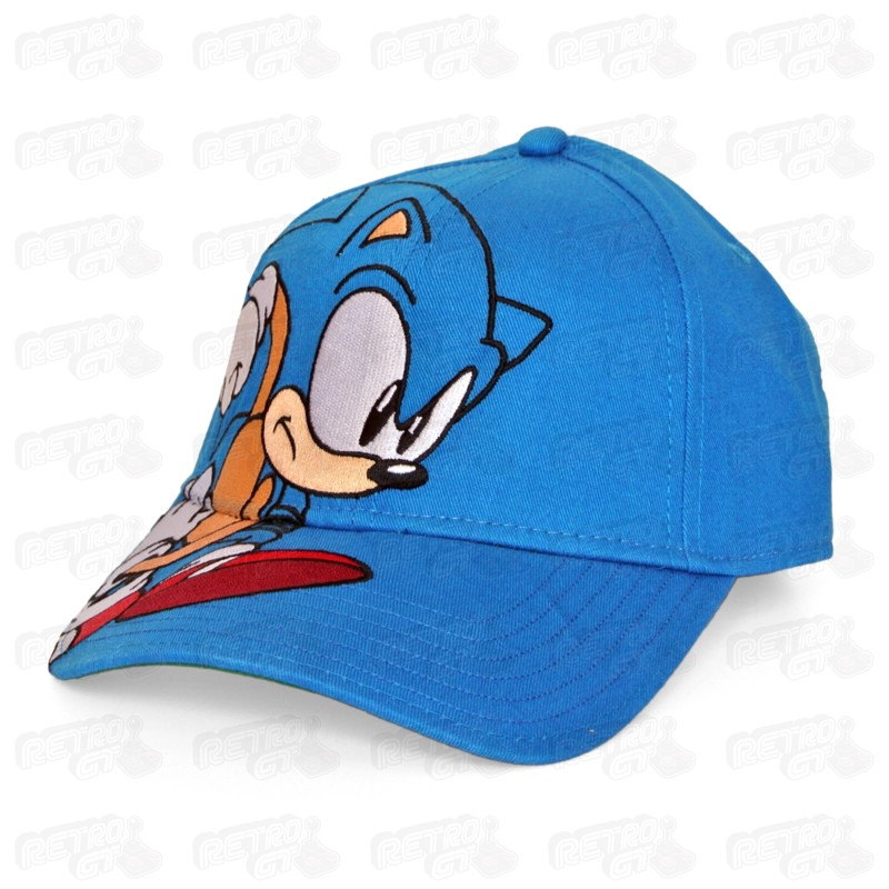 Sonic The Hedgehog Cap Headgear Retro Gaming Shop