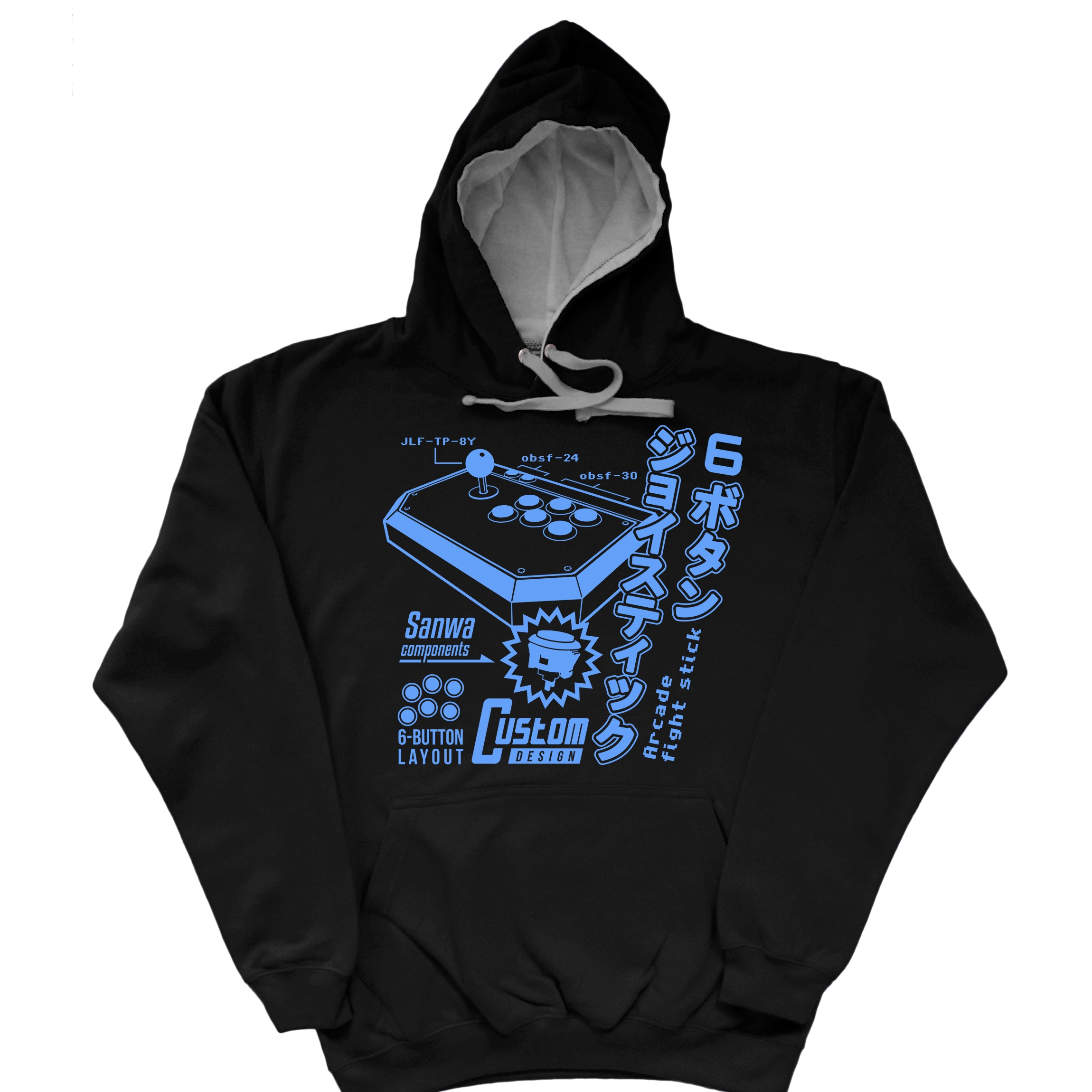 Alternative photo: Arcade Stick Hoodie