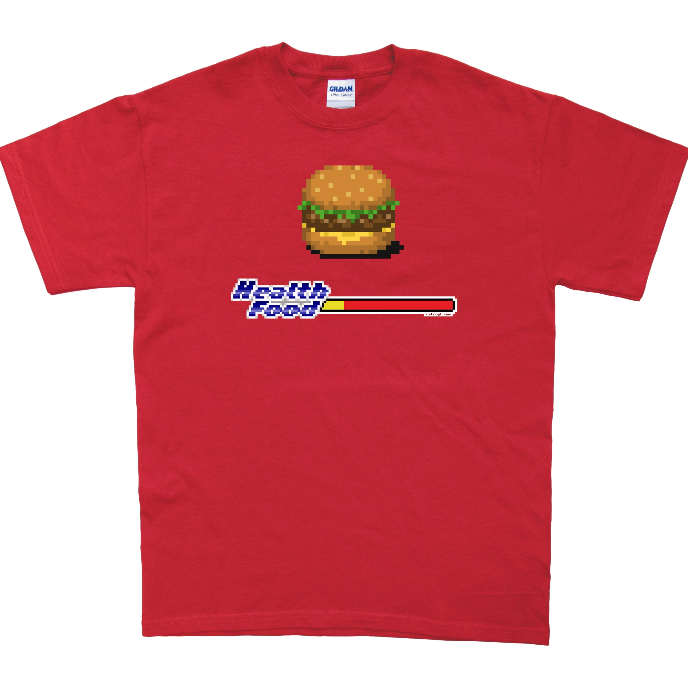 Alternative photo: Health Food Burger T-Shirt