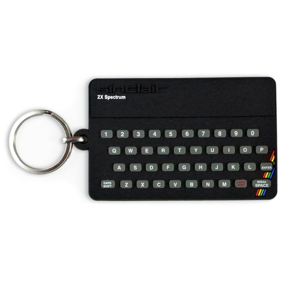 Alternative photo: ZX Spectrum Key Ring