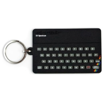 Photograph: ZX Spectrum Key Ring