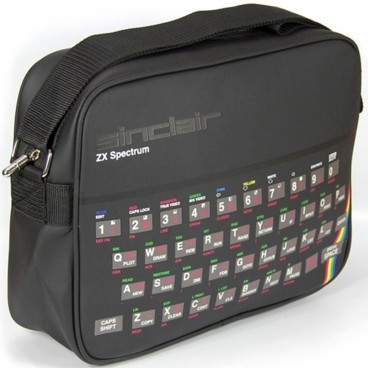 Photograph: ZX Spectrum Shoulder Bag