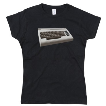 Photograph: Commodore 64 Girl's T-Shirt