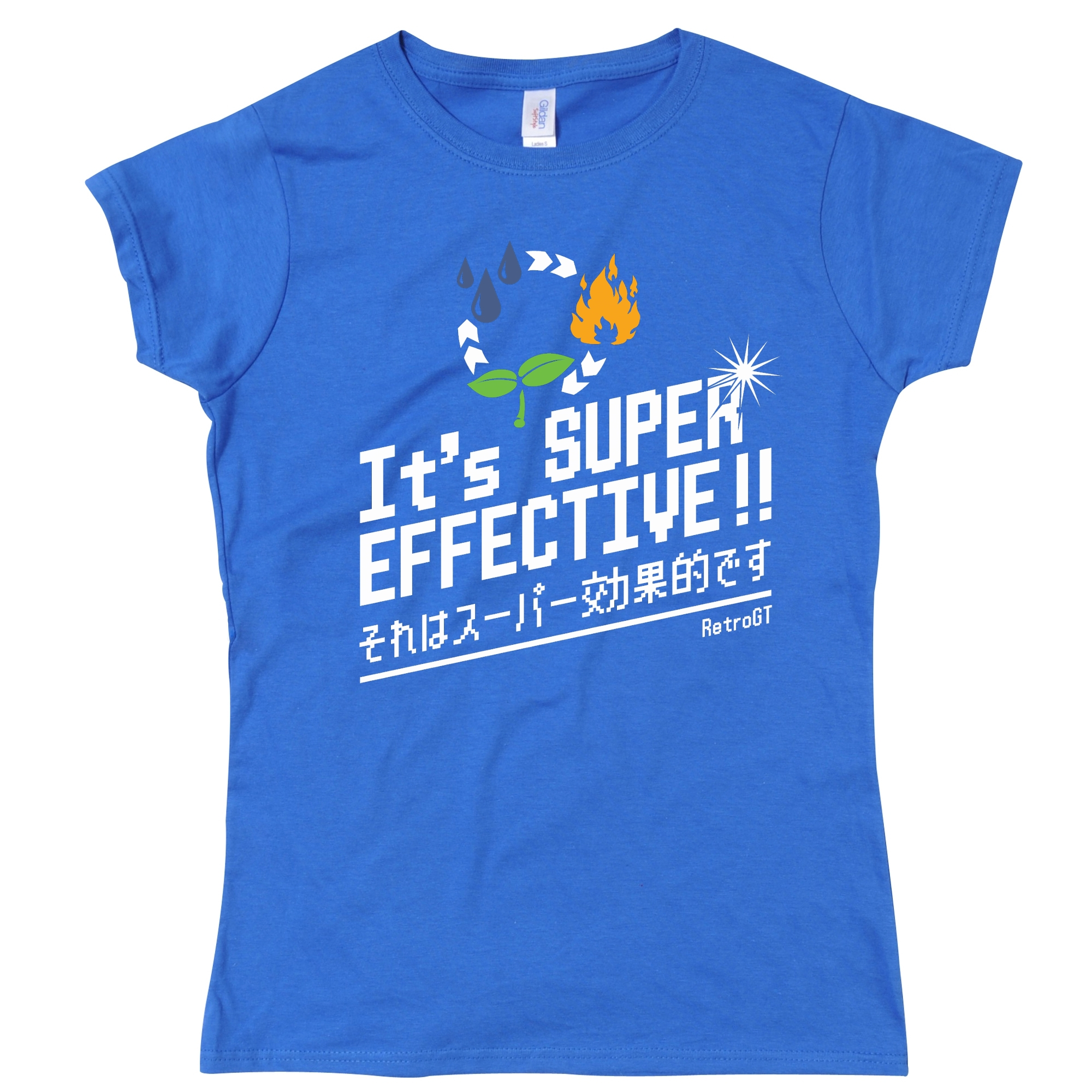 Alternative photo: It's Super Effective! Girls T-Shirt