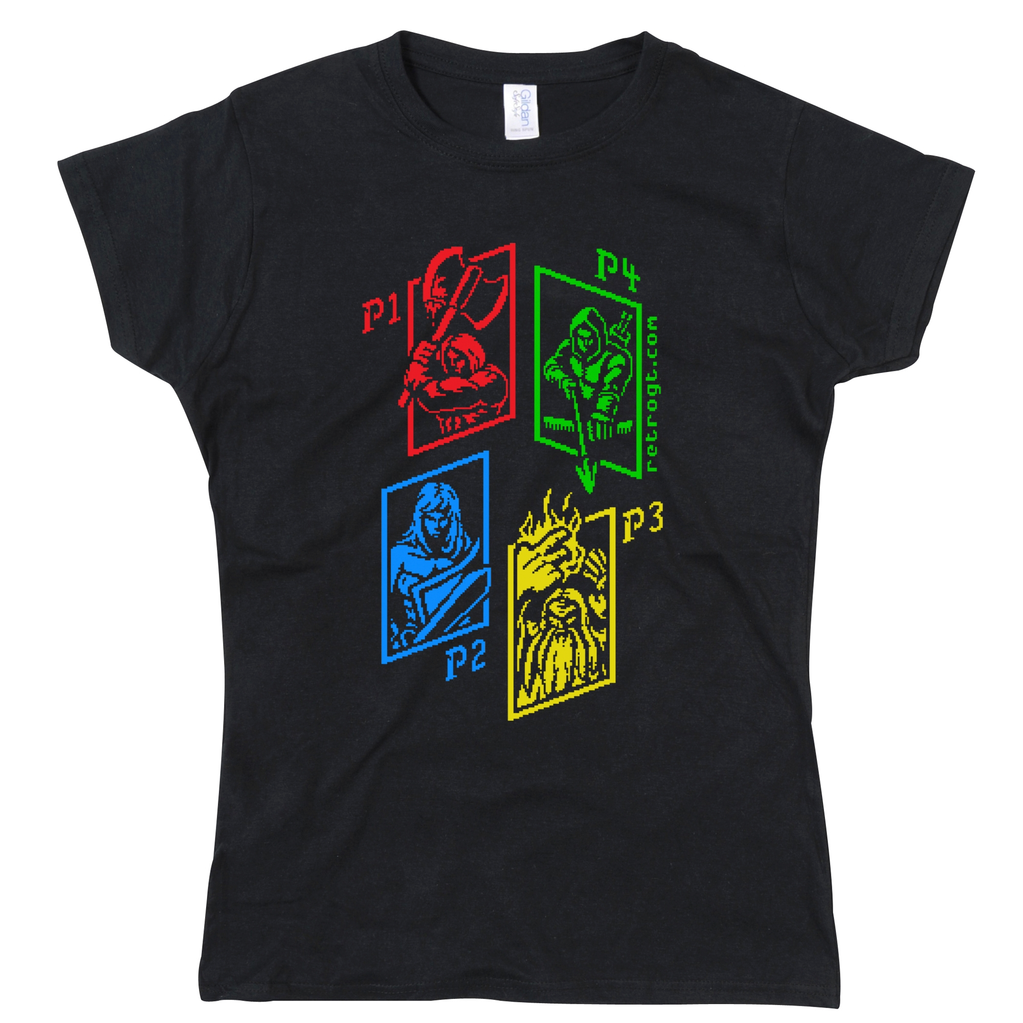 Alternative photo: Dungeon Crawler Girls T-Shirt