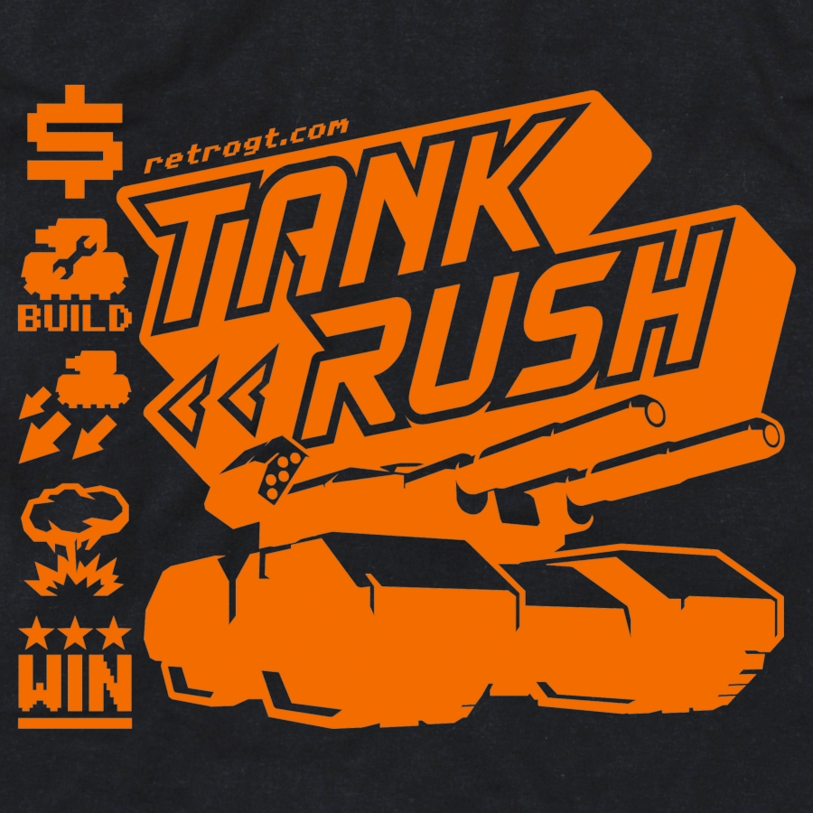 Tank Rush Girls T-Shirt