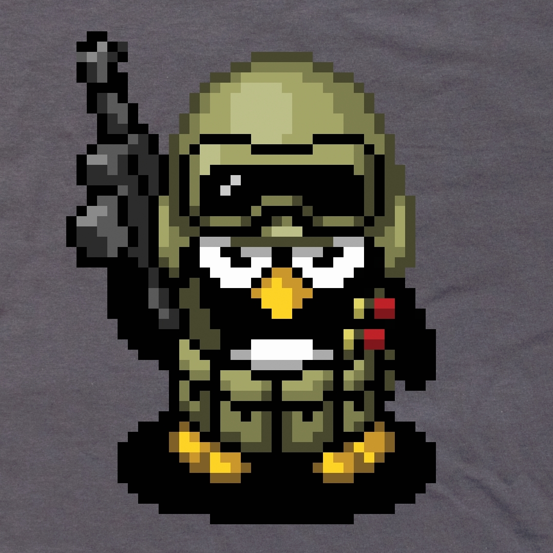 Alternative photo: Penguin Soldier T-Shirt