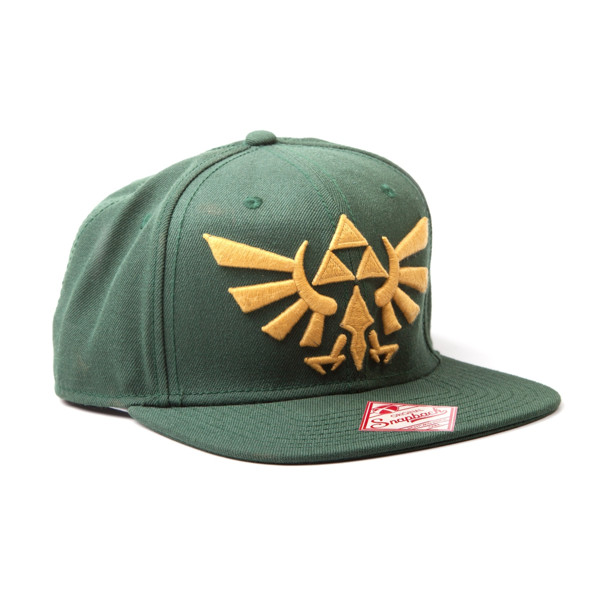 Alternative photo: Zelda Green Snapback Cap