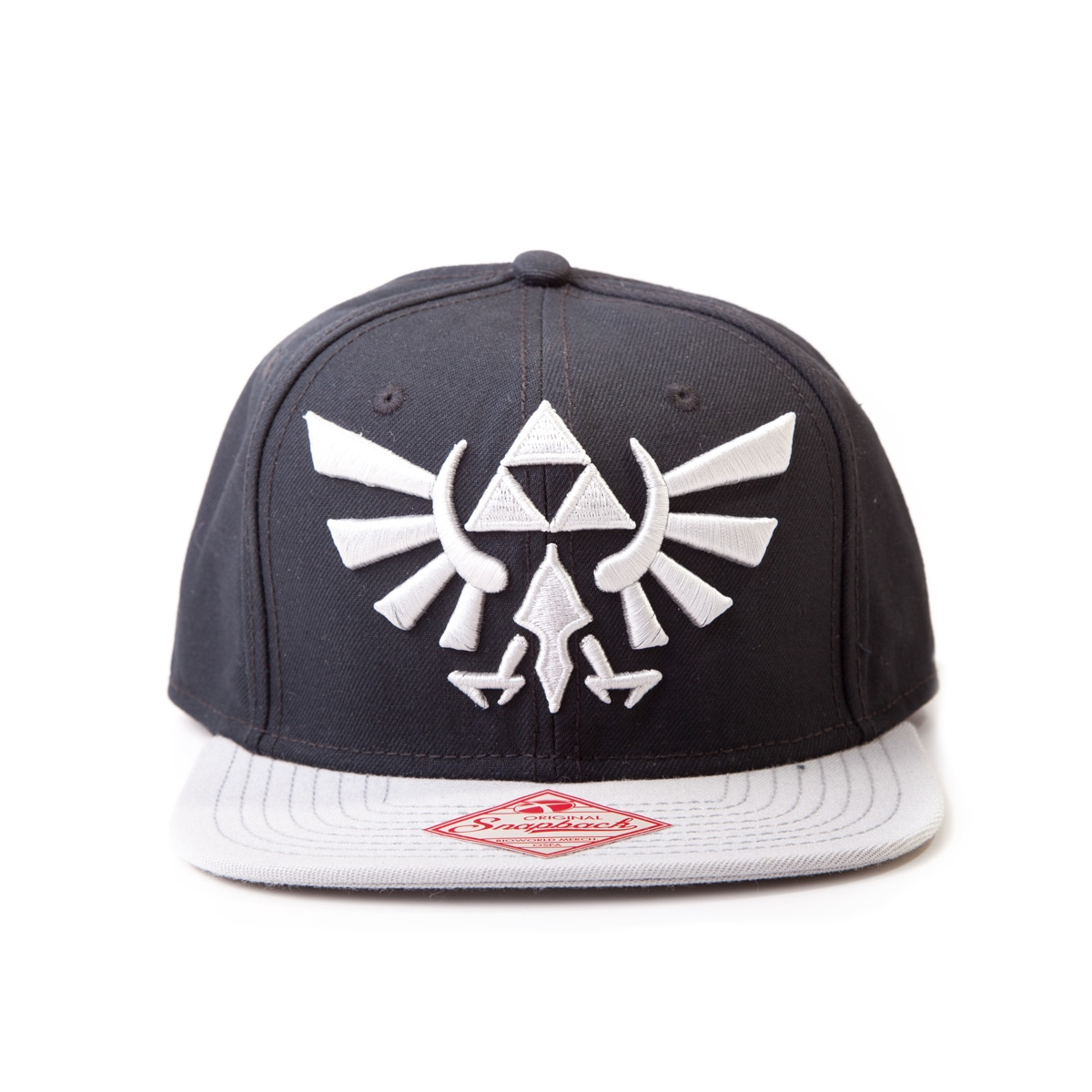 Alternative photo: Zelda Black Snapback Cap
