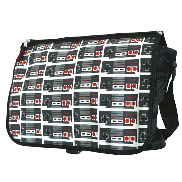 Alternative photo: Nintendo Controller Messenger Bag