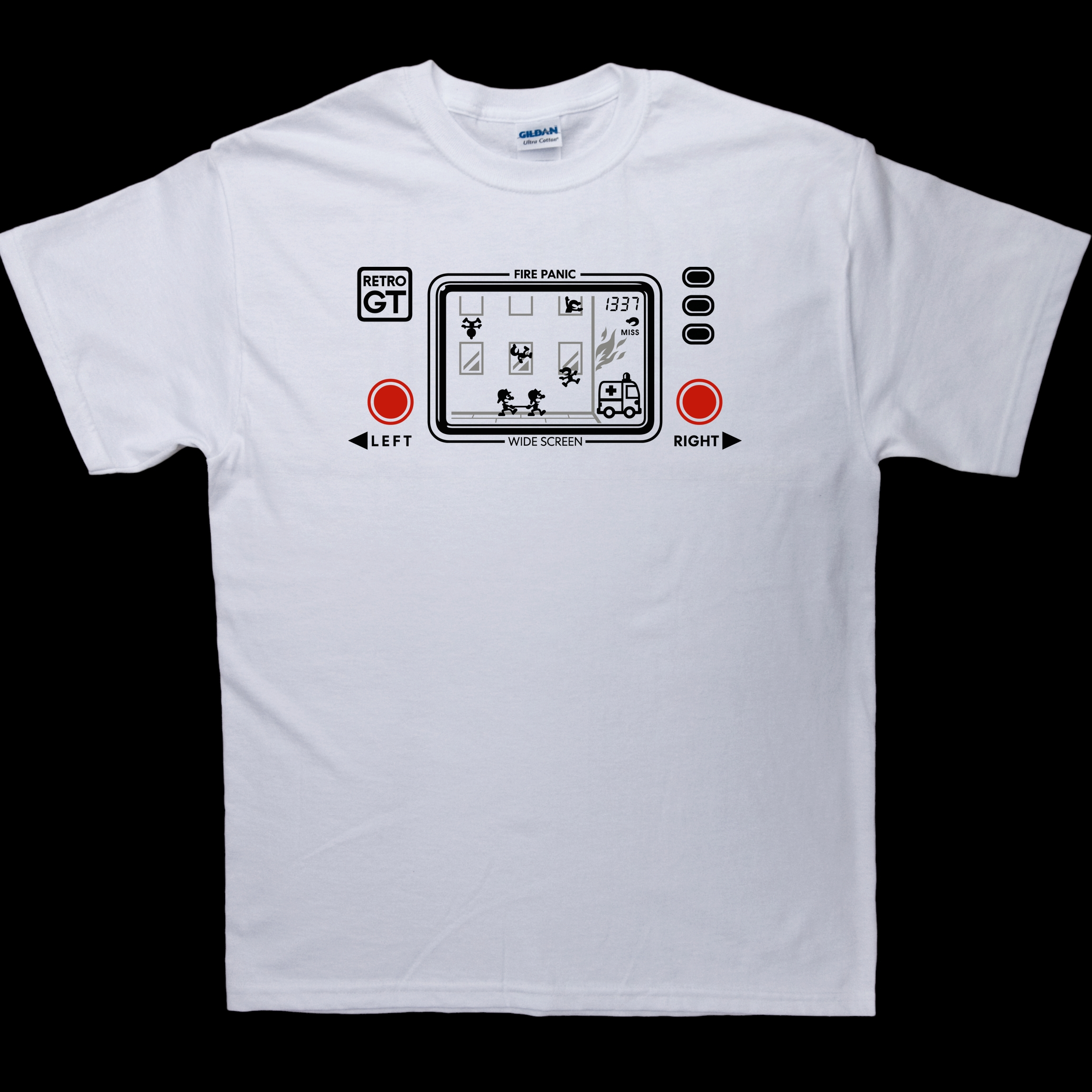 Fire Panic LCD game T-Shirt