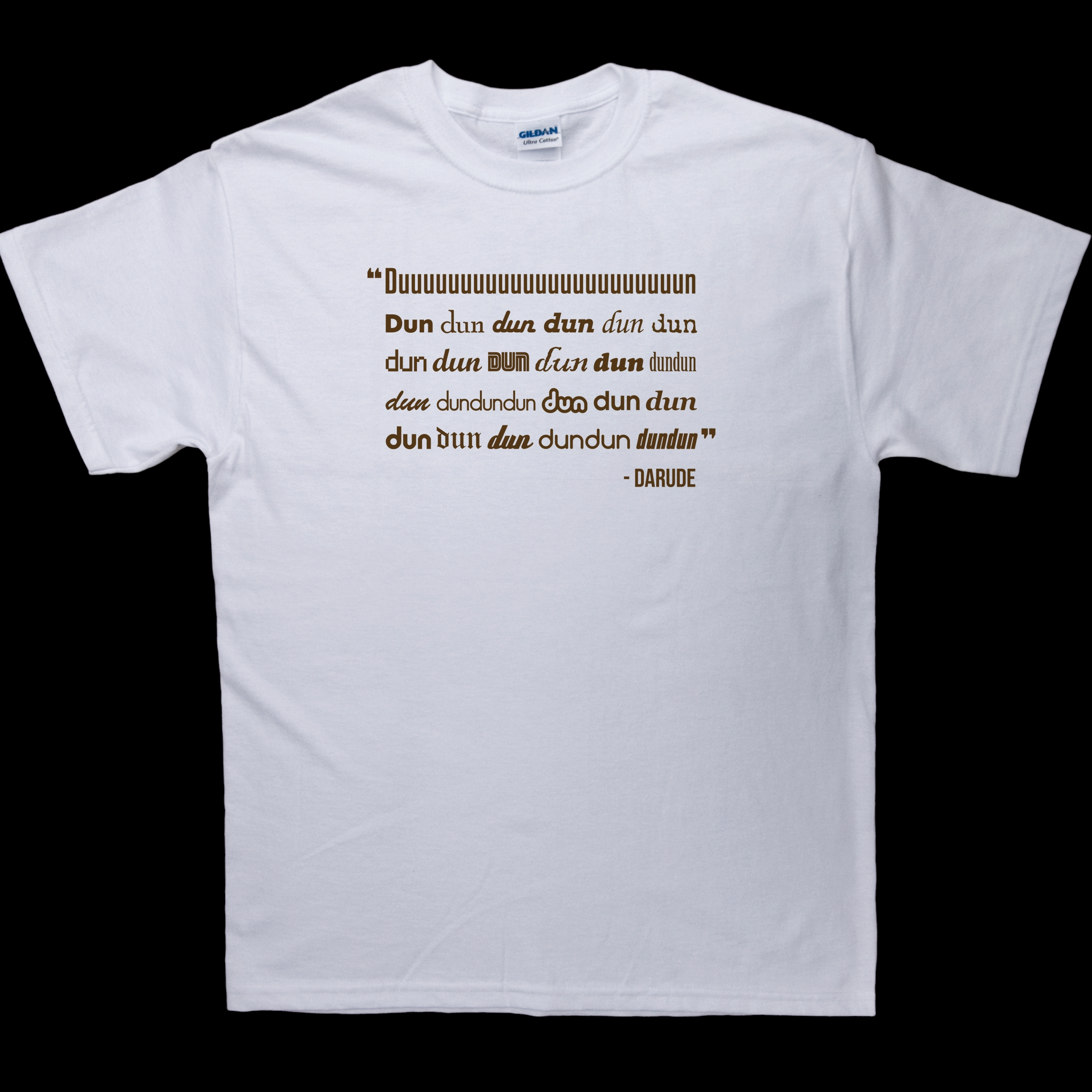 Darude - Sandstorm Lyrics T-Shirt