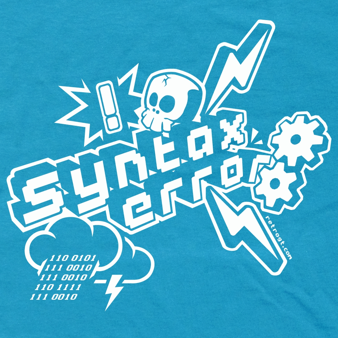 Alternative photo: Syntax Error T-Shirt