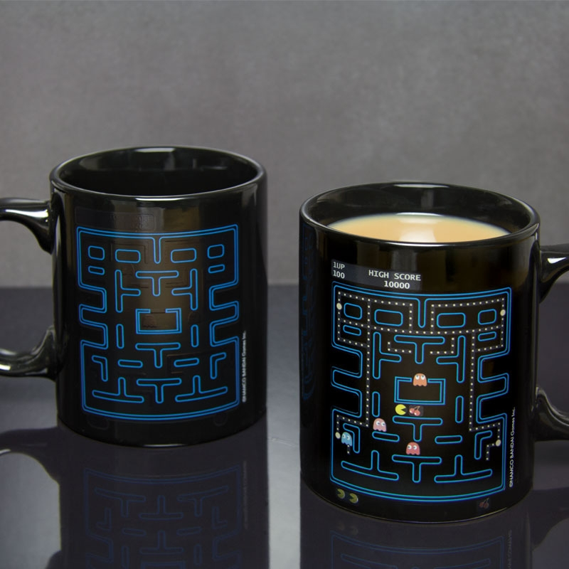 Alternative photo: Pac-Man Heat Change Mug