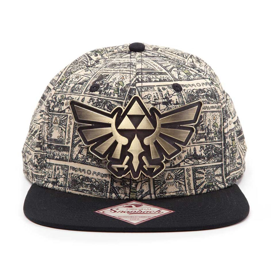 Alternative photo: Zelda Storyboard Snapback Cap