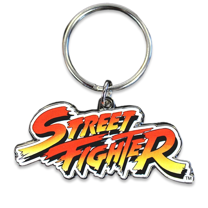 Street Fighter Classic Logo Key Ring