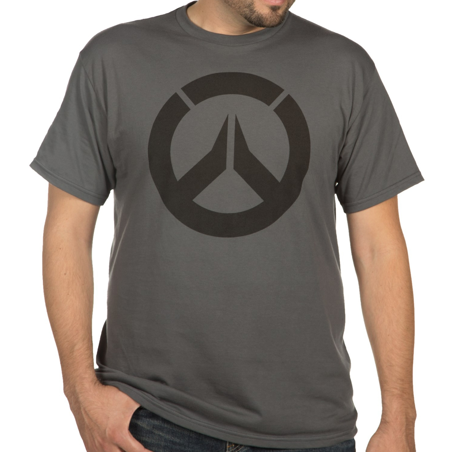 Photograph: Overwatch Icon Charcoal T-Shirt