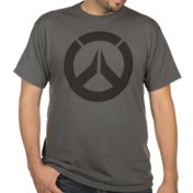 Overwatch Icon Charcoal T-Shirt