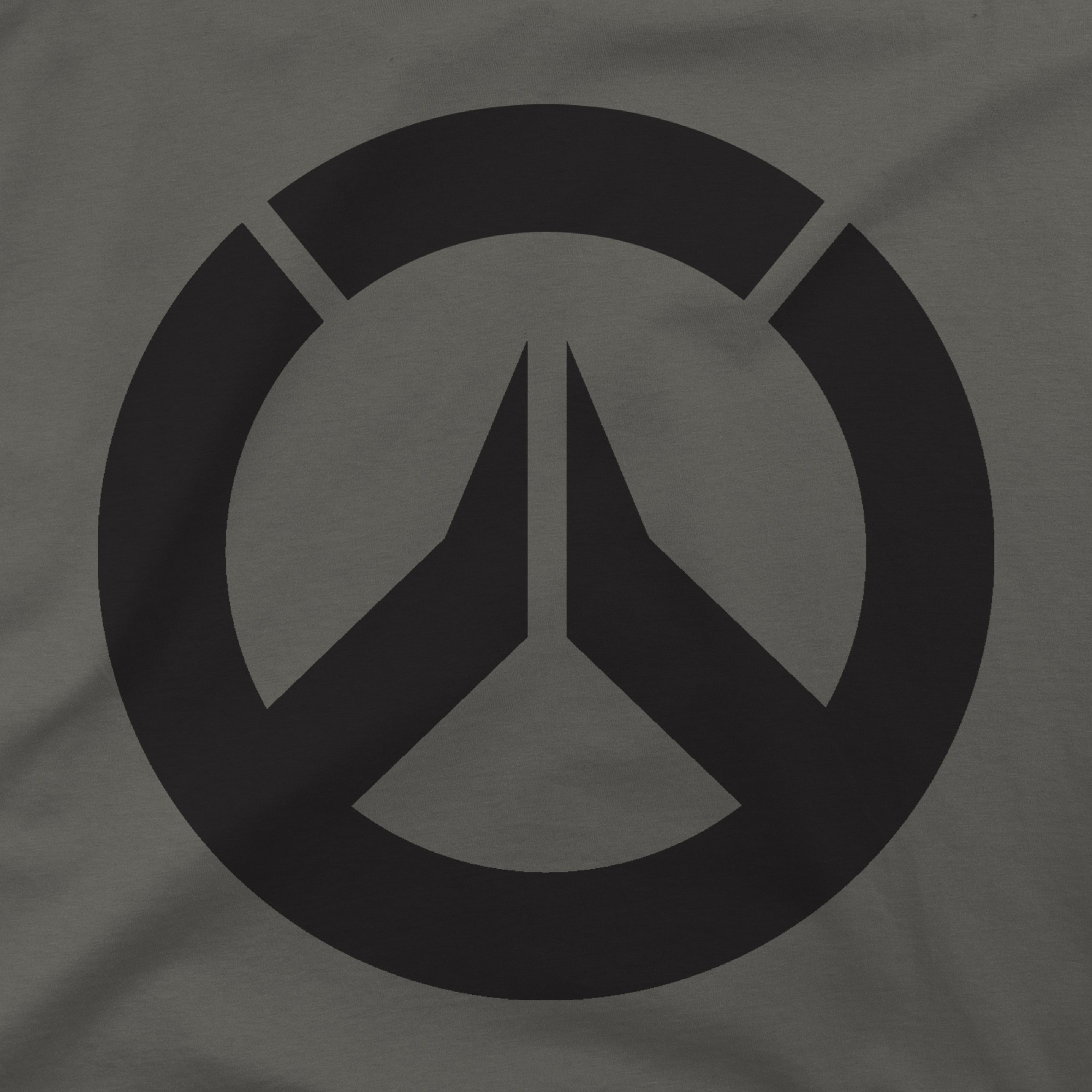 Alternative photo: Overwatch Icon Charcoal T-Shirt