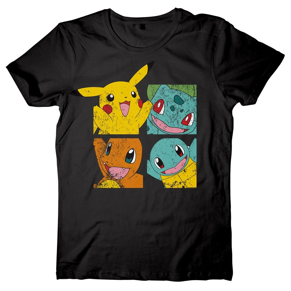 Alternative photo: Pokémon Pikachu and Friends T-Shirt