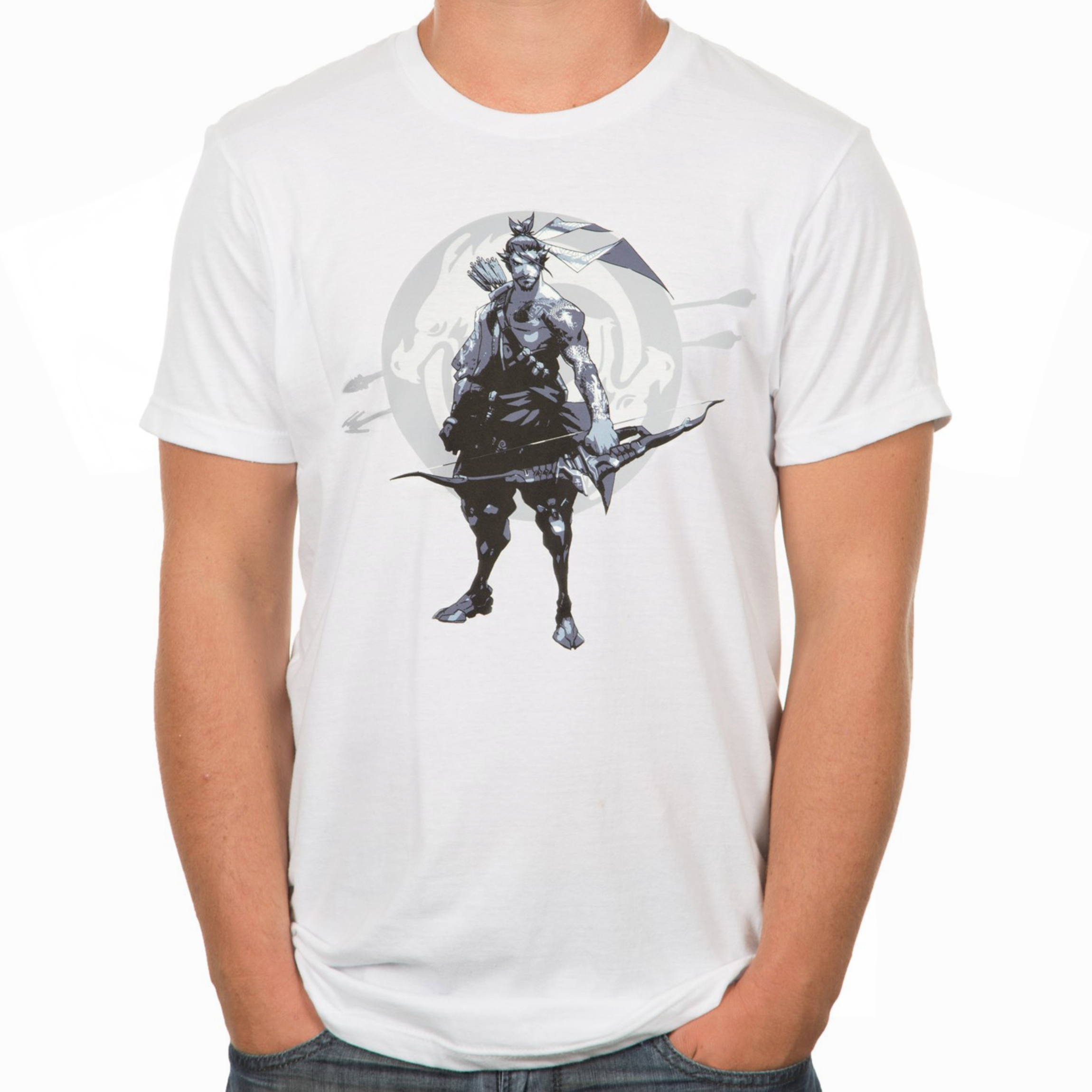 Photograph: Overwatch Redemption Through Honour T-Shirt