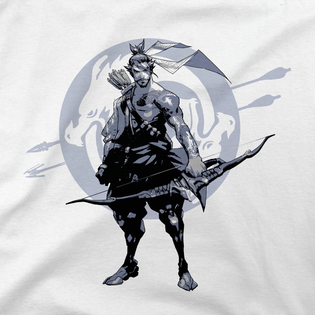 Alternative photo: Overwatch Redemption Through Honour T-Shirt