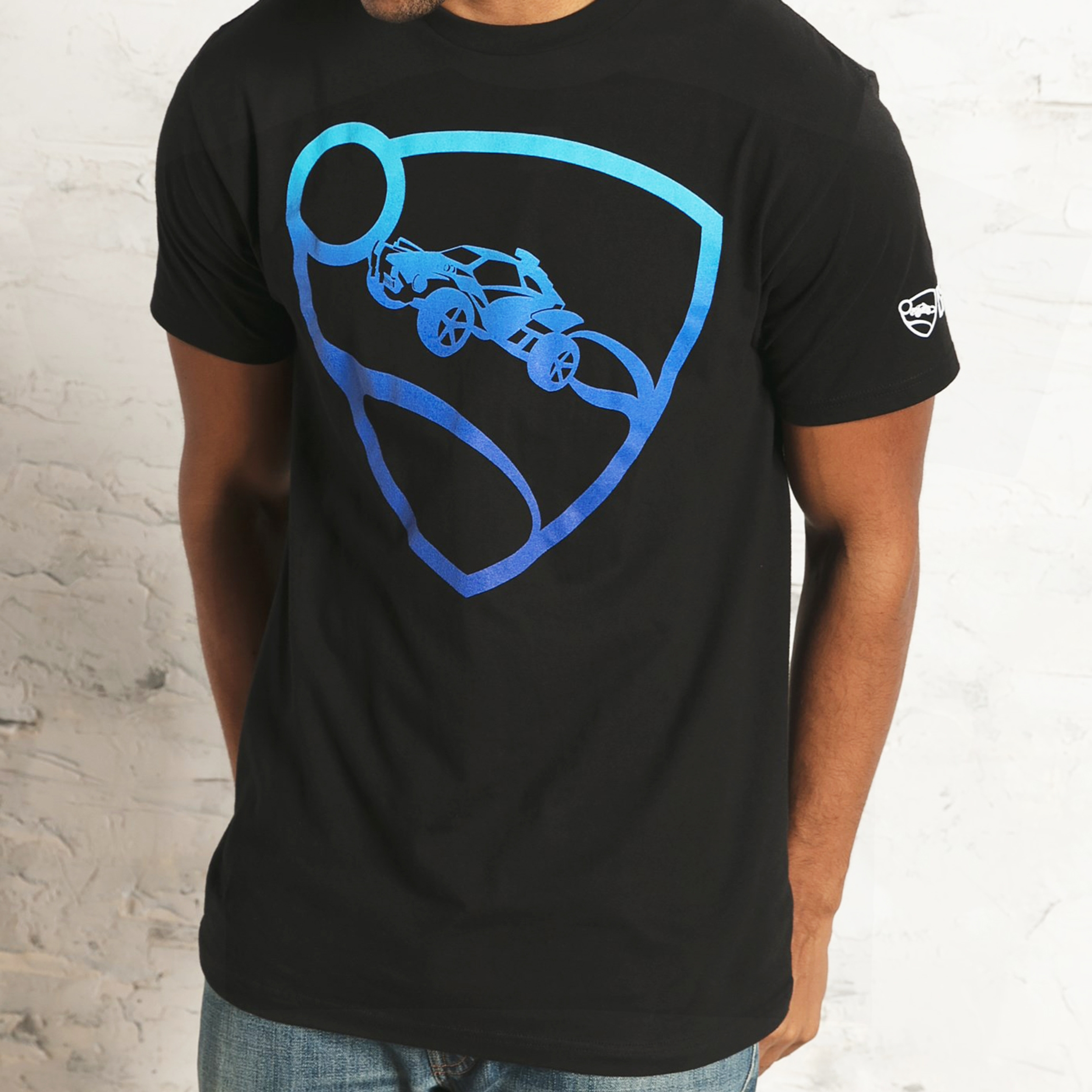 Rocket League Blue Pro Glow T-Shirt