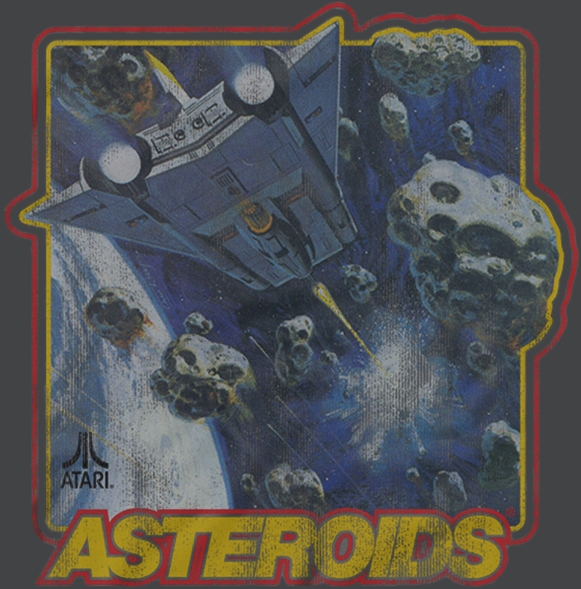 Alternative photo: Atari Asteroids T-Shirt