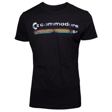 Photograph: Commodore 64 Logo T-shirt