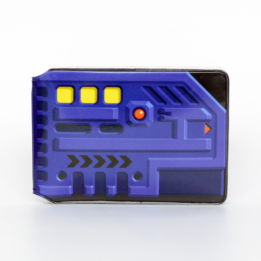Blue Key Card Travel Card Holder