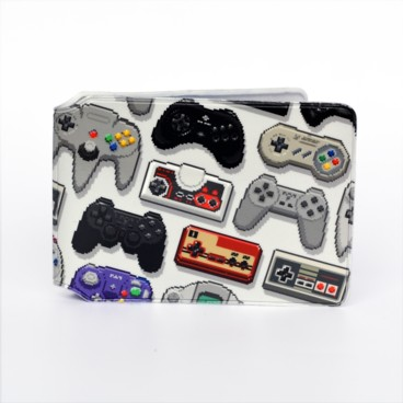 Photograph: Pixel Console Controllers Card Holder