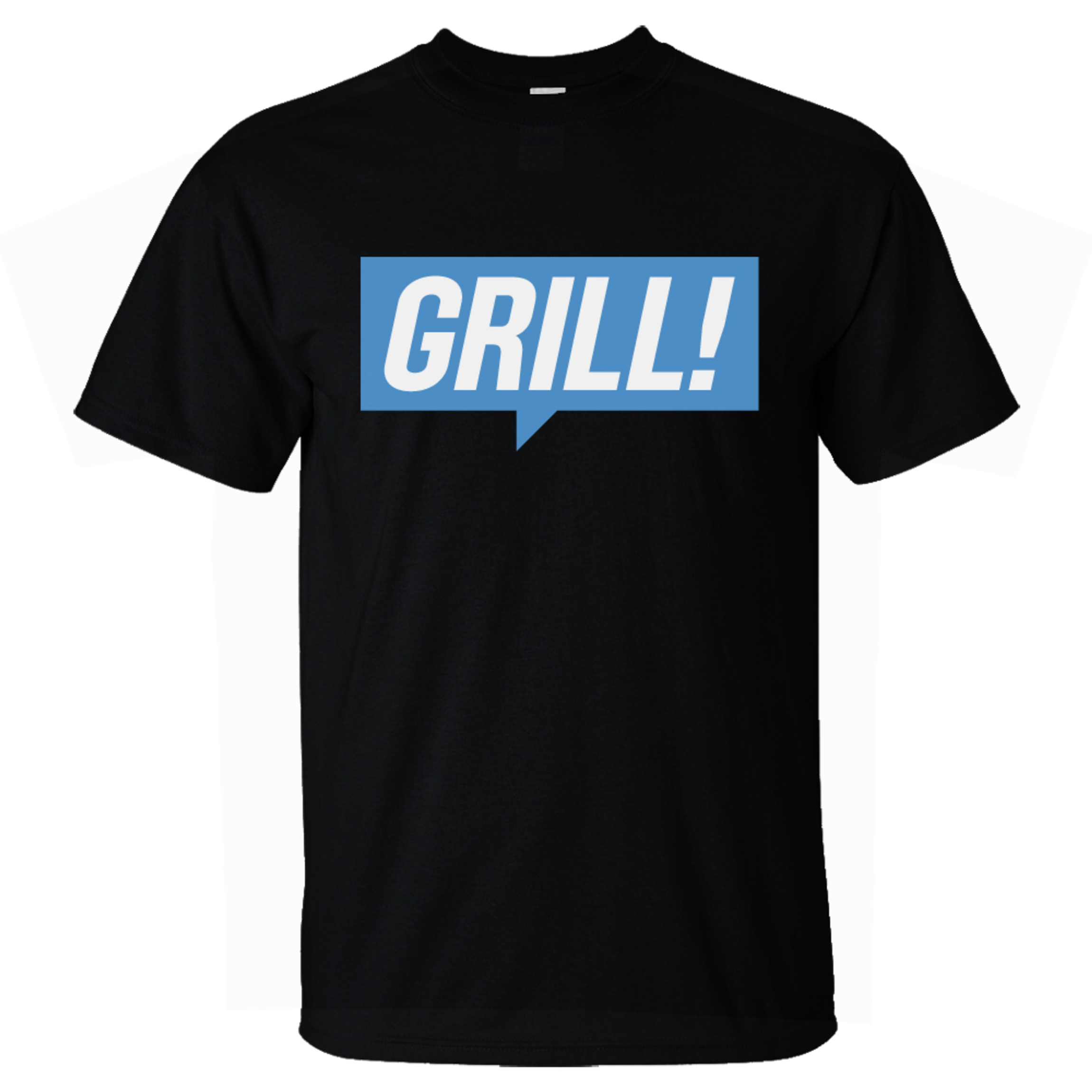 Photograph: GRILL Blue T-Shirt